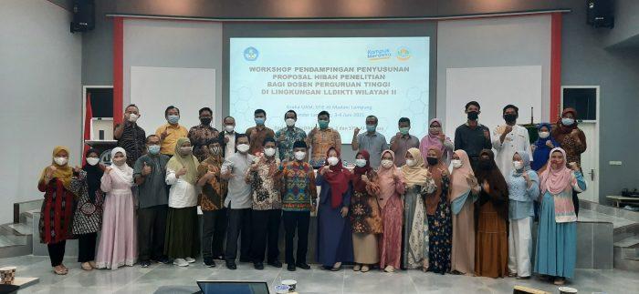 Workshop Pendampingan Penyusunan Proposal Hibah Penelitian